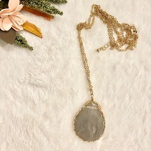 Altar'd State | Gray Stone Necklace